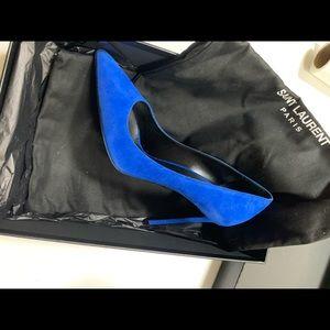 Saint Laurent Shoes - Saint Lauren - Suede Heels